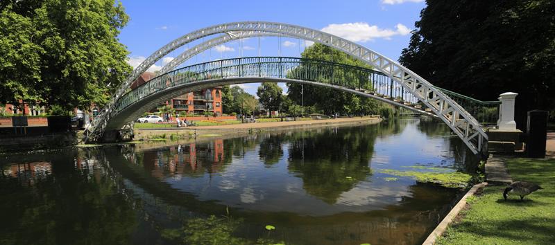 Bridge over Bedford River
