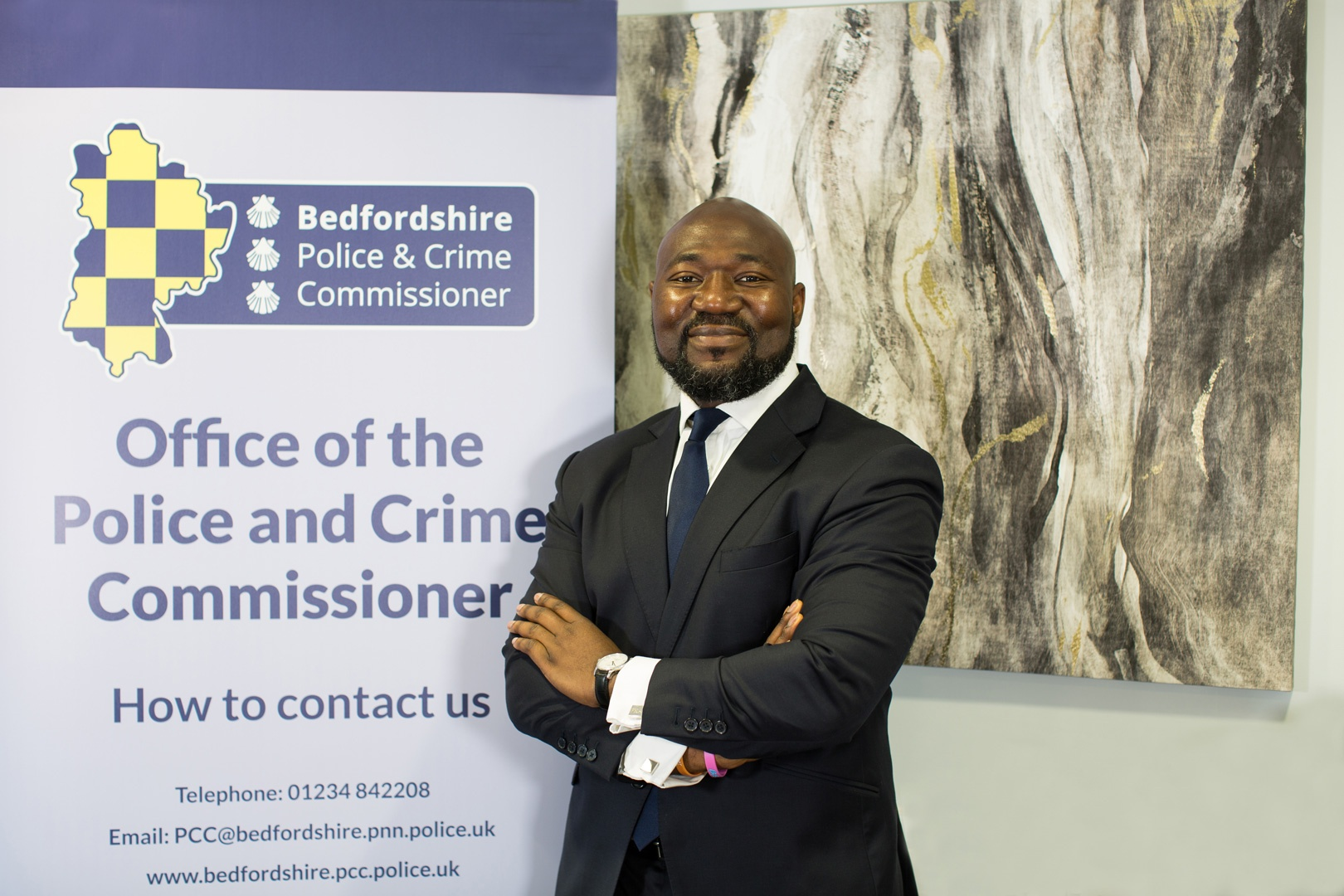 New Police and Crime Commissioner Festus Akinbusoye reveals early plans