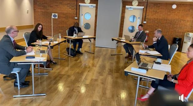 PCC keeps pledge of transparency by livestreaming his first formal meeting with the Bedfordshire Police Executive Team