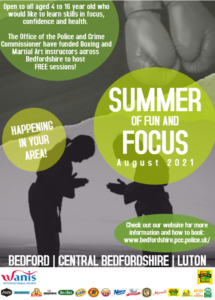 Summer of fun and focus - POSTER