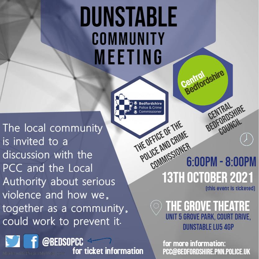 Dunstable Community Meeting
