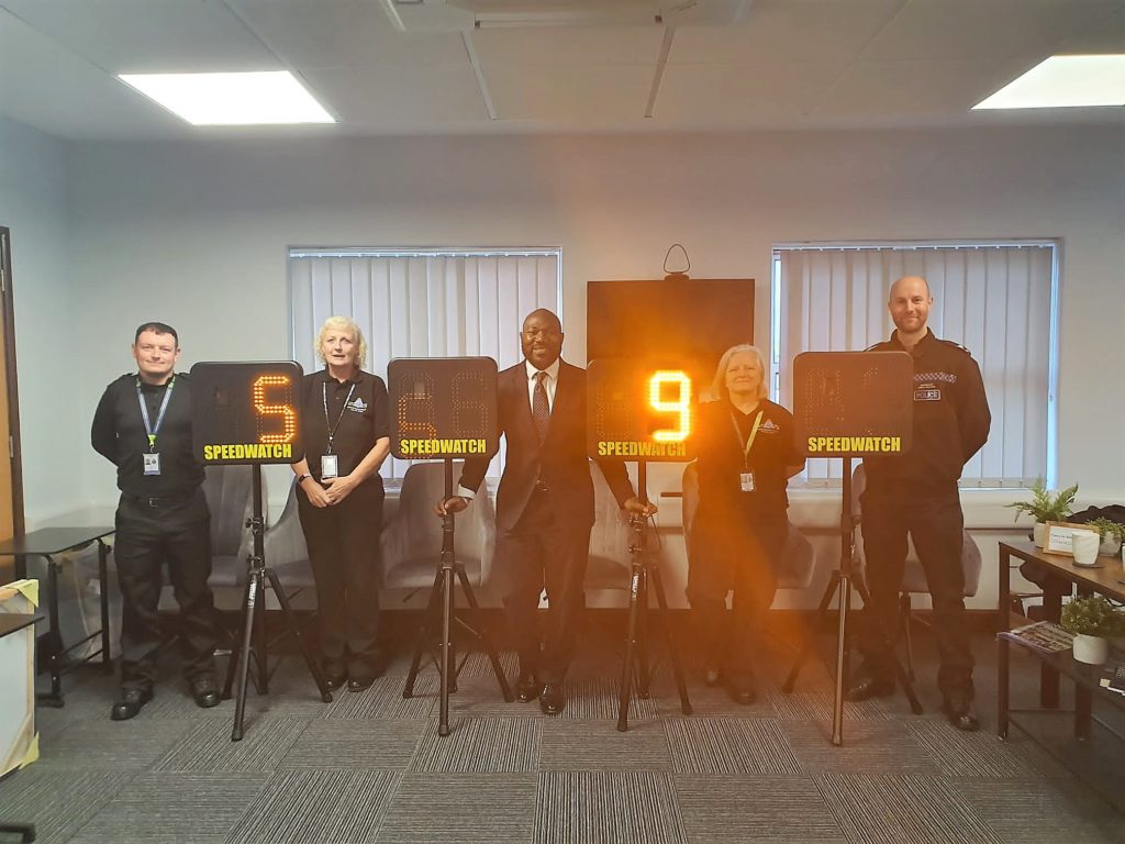 PCC and Speed Watch devices